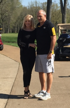 Gary Pinkel and wife Missy