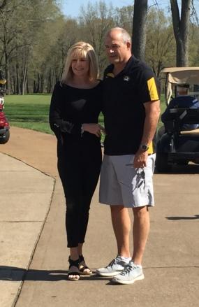 Gary Pinkel and wife Missy