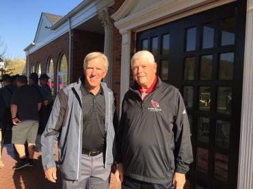 Hall of Famer Roger Wehrli and Jim Hart reunite